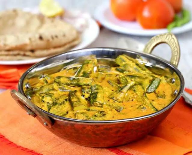 Delicious healthy and easy Dahi bhindi recipe at home