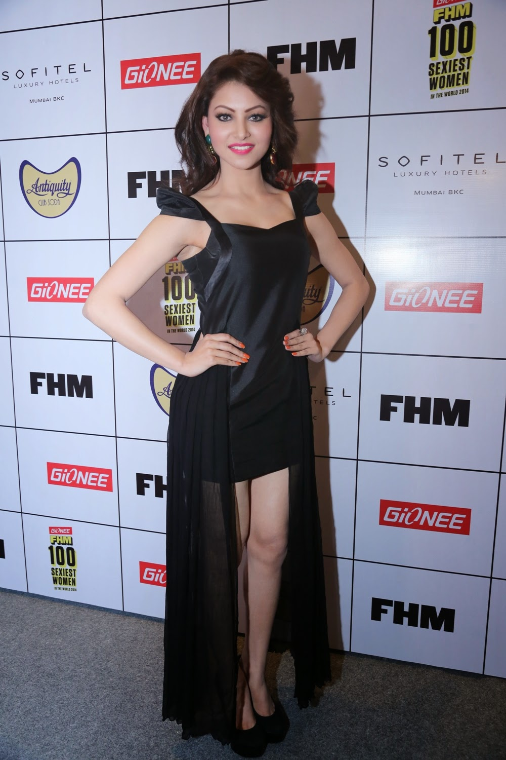 Urvashi Rautela at Gionee FHM Sexiest 100