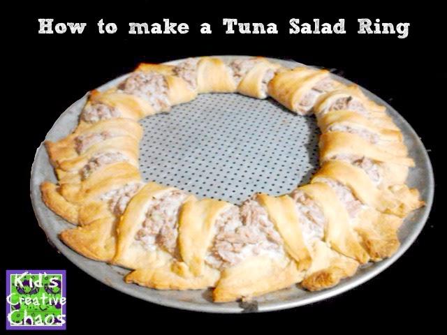 Creative Make a Ring or Wreath Tuna Salad Recipes
