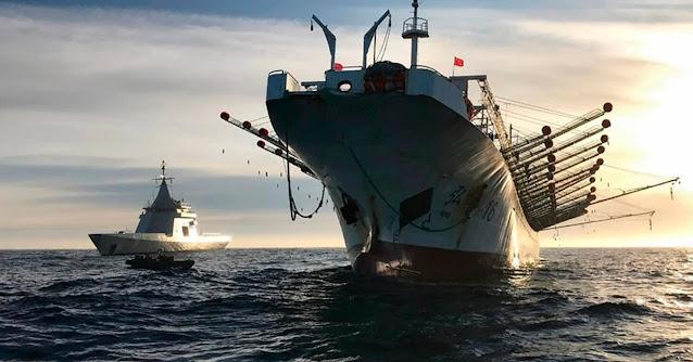 Argentina encomendou patrulheiros de última geração e já prendeu vários 'piratas' chineses