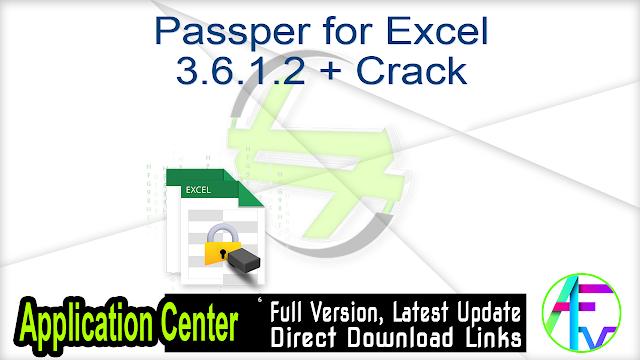 Passper for Excel 3.6.1.2 + Crack