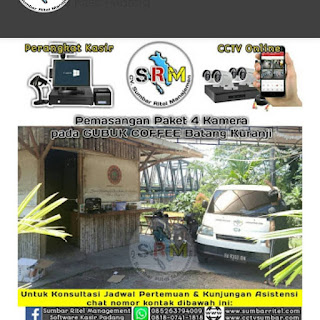 GUBUK COFFEE Batang Kuranji (Pemasangan CCTV online & Software Kasir Cafe)