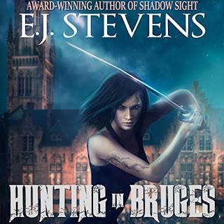 Hunting in Bruges Hunters Guild Ivy Granger Psychic Detective Award Winning Urban Fantasy Audiobook by E.J. Stevens