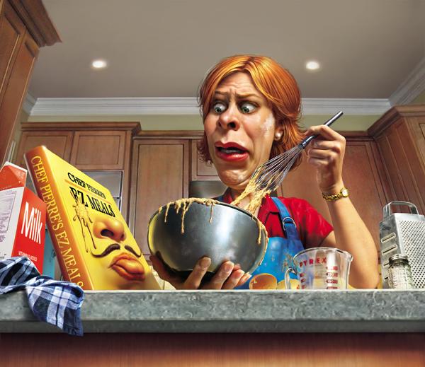 Lisa DeFlamingos: Why I Hate Cooking
