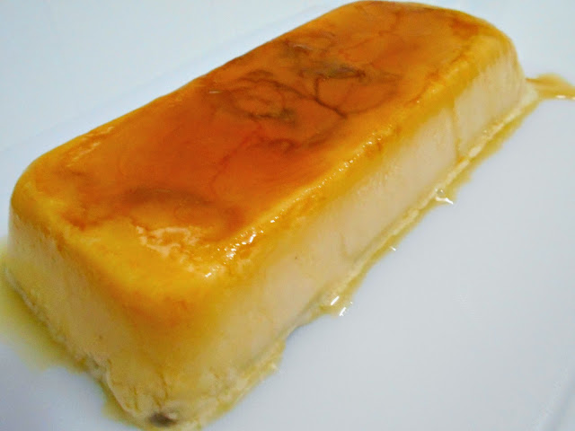 tarta de quesitos caramelo