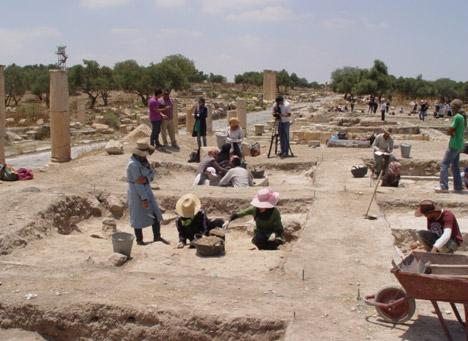 Hellenistic temple discovered in Jordan's Umm Qais