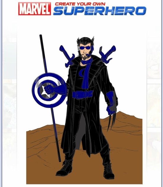 sc 1 st  Your English Channel & Create your own superhero! | Your English Channel