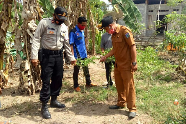 Mantapkan Kampung Sehat, Kapolsek Hu'u lakukan sambang rutin