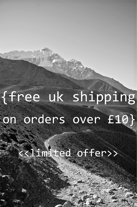 FREE UK P&P ON ORDERS OVER £10 (temp offer)