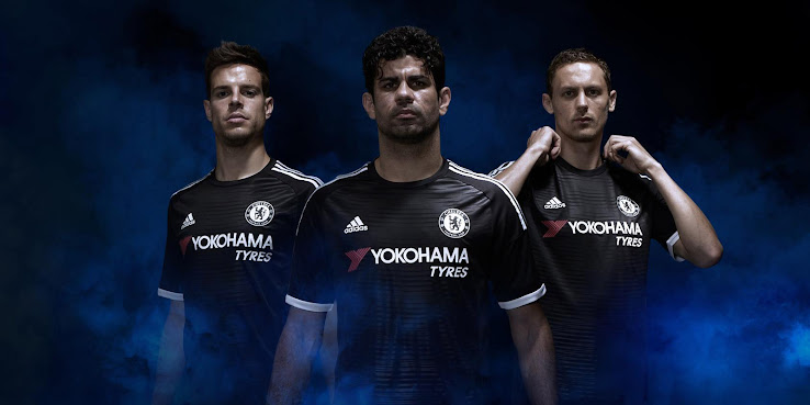 detailed look 4a43a ed192 Chelsea 15-16 Kits Revealed - Footy Headlines