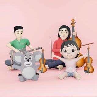 Aransemen Musik Hoala Koala