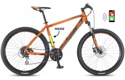 Troja Bike GPS protection