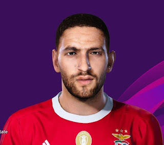 PES 2020 Faces Adel Taarabt by Davidjm08