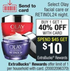 SAVE 64% OFF Olay Products!!
