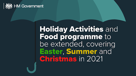 Text Holiday Activities and Food Programme to be expanded
