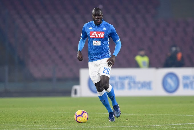 Sports: Napoli lost Kalidou Koulibaly to two—match ban