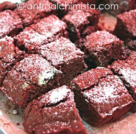 Blueberries Brownies