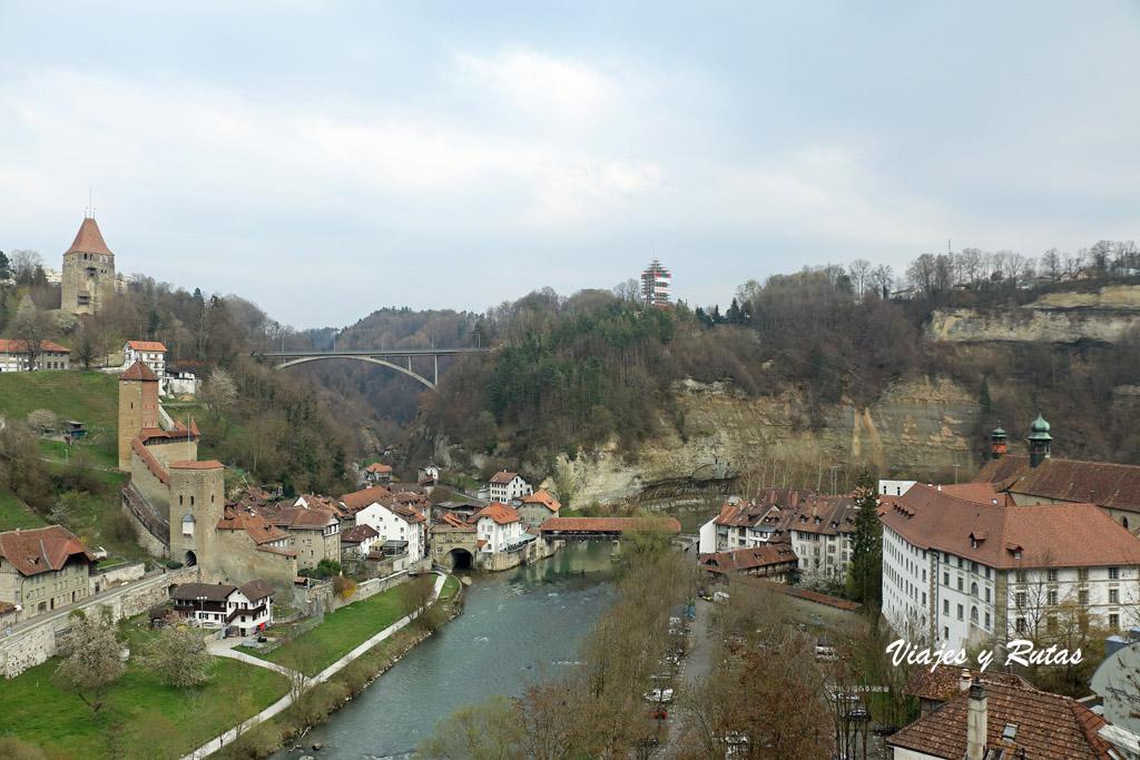 Puente Zaehringen de Friburgo