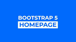 Awesome Bootstrap 5 Homepage