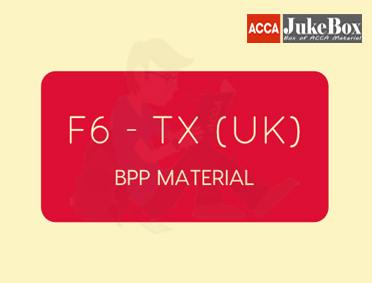 F6 - TX (UK)   Study Text   FA2018   Edition 2019-2020