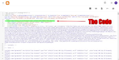 cara memasukan code follow.it di blogger