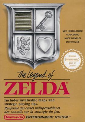 Zelda 1 Nes Boite
