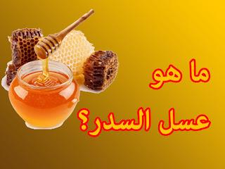 ما هو عسل السدر