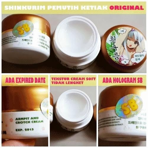 Shin Khurim Cream Pemutih Ketiak