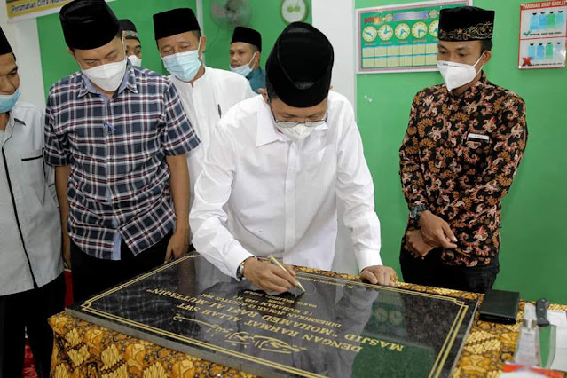 Resmikan Masjid Mohammed Rafi Al Muttaqin, Amsakar Minta Umat Muslim Memakmurkannya