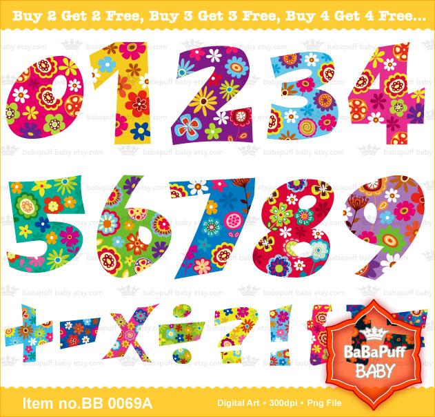 Printable Numbers My Creative Design Artwork