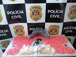 Polícia Civil realiza operação contra o tráfico de drogas e prende associação criminosa atuante em Pariquera-Açu