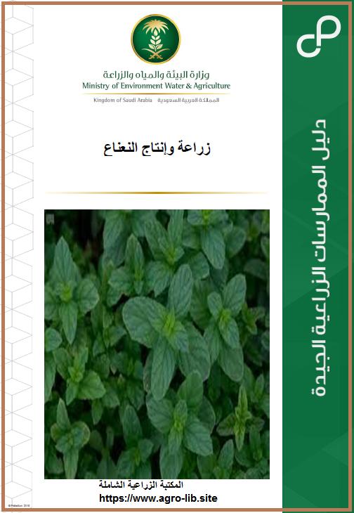 كتاب : الدليل العملي في زراعة و انتاج النعناع