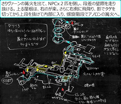 DarkSouls3 サリヴァーンの篝火 → アノール・ロンド 攻略 地図 マップ