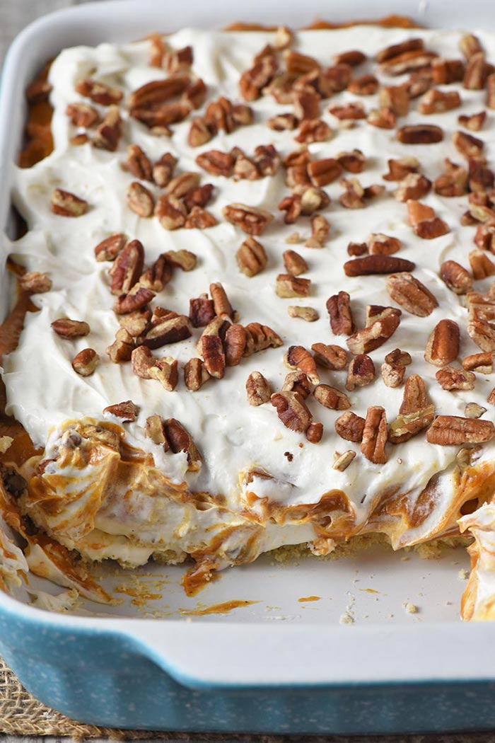 No-Bake Pumpkin Dessert