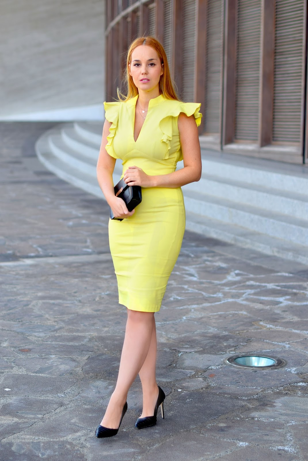 nery hdez, perfect guest, hybrid, zara shoes, lime dress, invitada perfecta