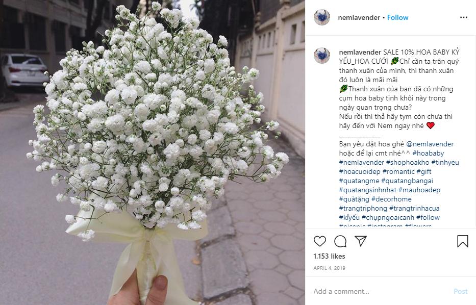 Cuộc thi quà tặng trên Instagram