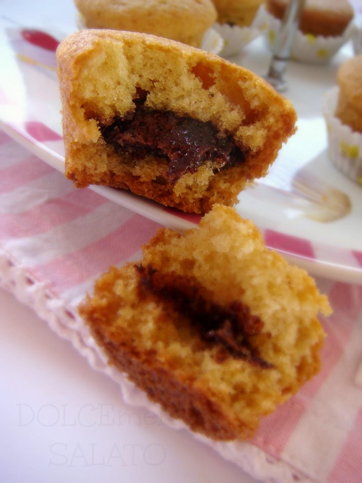 DOLCEmente SALATO: Tortini simil muffin con gocce di ...