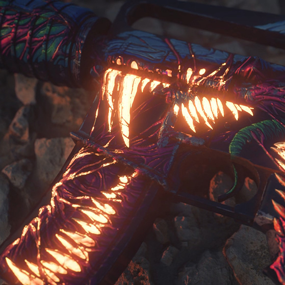 M4A1-S Hyper Beast Wallpaper Engine