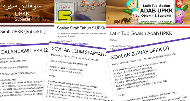 Koleksi Soalan UPKK Online