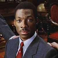 Eddie Murphy Staring at the Camera