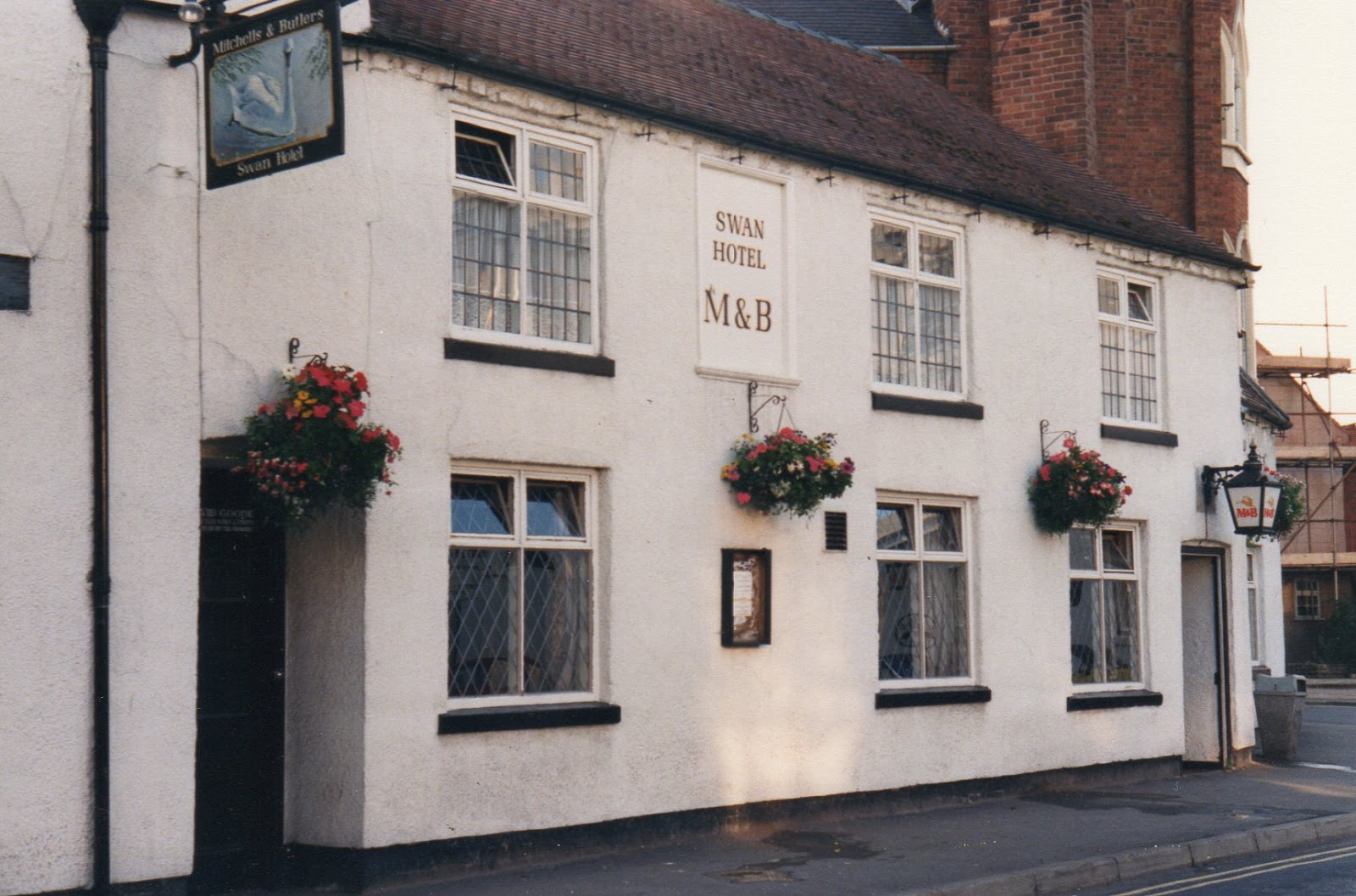 Pubs: Then & Now: #262 Swan Hotel, Brewood, Staffordshire