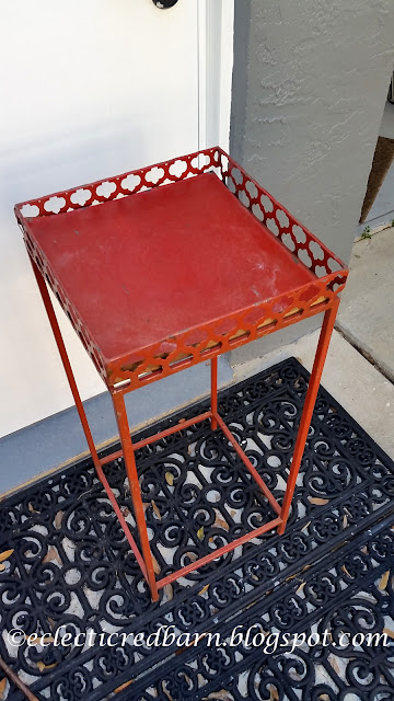 Eclectic Red Barn: Original  plant stand