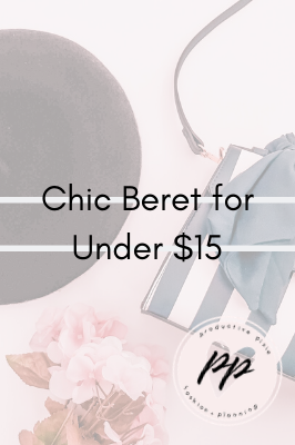 New Wardrobe Addition: Chic Beret