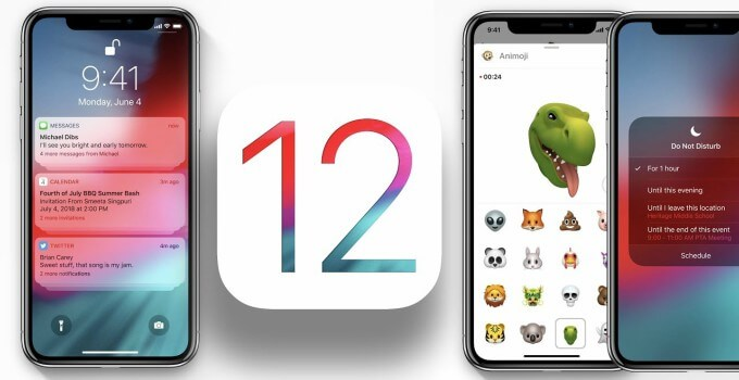 iOS 12 comes with scheduled Bedtime Do Not Disturb Mode - Iphone