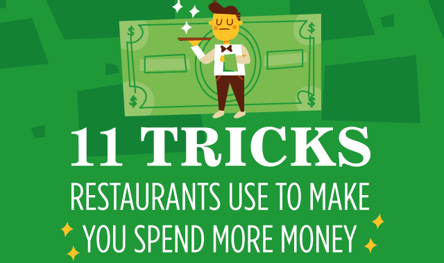 11 Tricks Restaurants Use to Make You Spend More Money