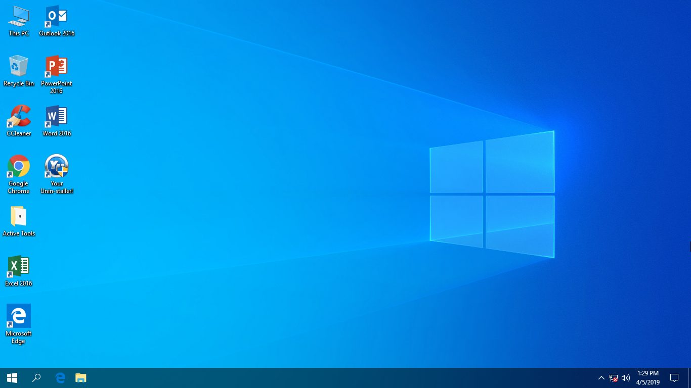 Windows 10 pro 1809 build 17763.404 x64 release 04/04/2019