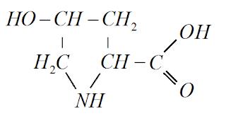 estrutura quimica hidroxiprolina
