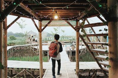 kampung hexagone, pasar kuna lereng, petir