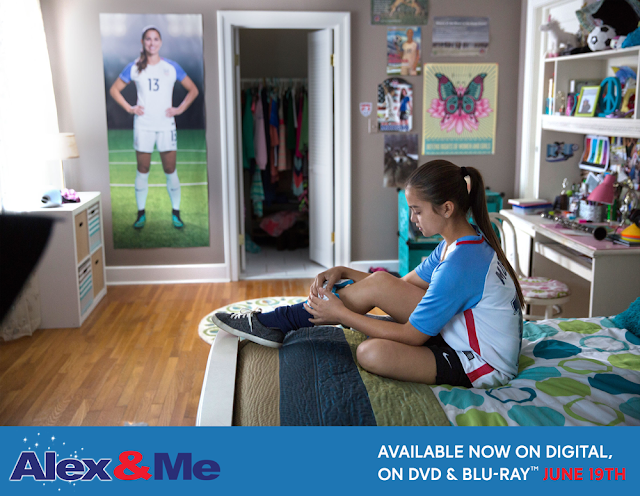 #AlexandMe Movie Aims to Inspire Soccer Fans! Score a copy on BlueRay #AlexMorgan