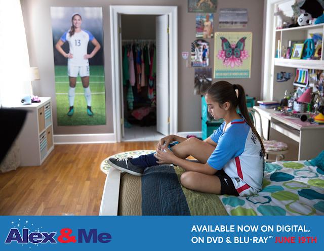 #AlexandMe Movie Aims to Inspire Soccer Fans! Score a copy on BlueRay #AlexMorgan